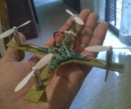 How to make a simple DIY micro quadcopter.