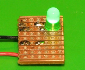 Soldering a LED to the 'Wrong' Side of a PCB