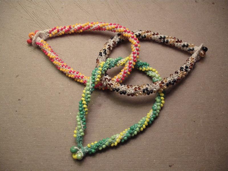 Picture of Crochet Beaded Bracelets