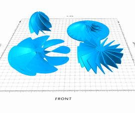 Impellers Modeling in SelfCAD