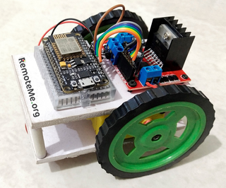 WiFi Controlled Robot Using Esp8266