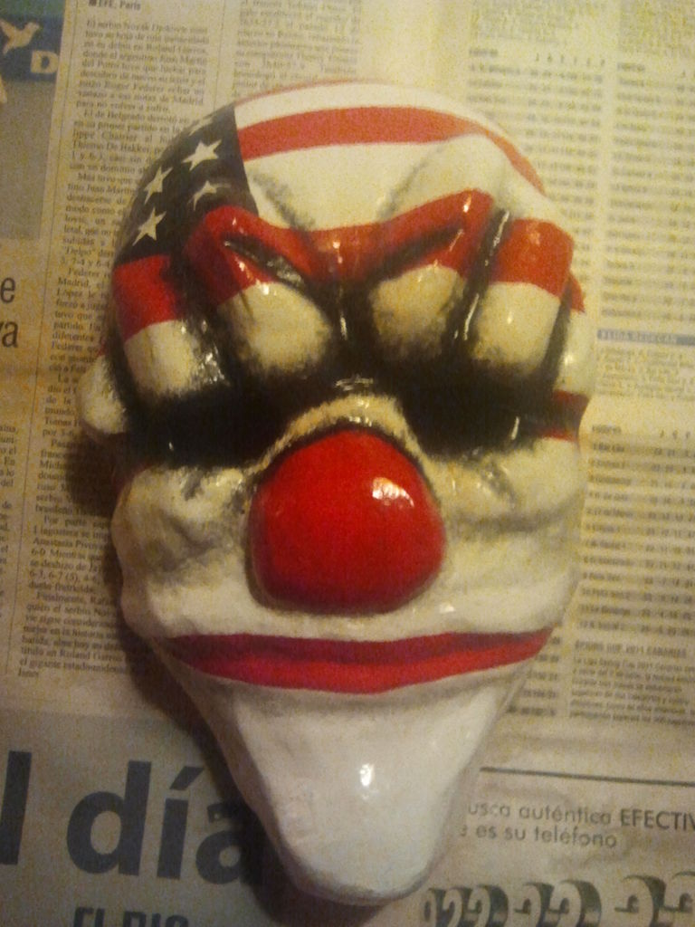 Picture of Payday: the Heist Dallas Clown Mask