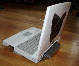 Repaint and Water Cool Your Laptop