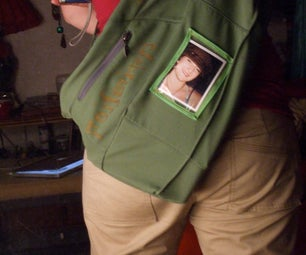 Backpack/Tote With Picture Frame