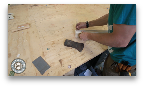 Rough Cutting the Handle
