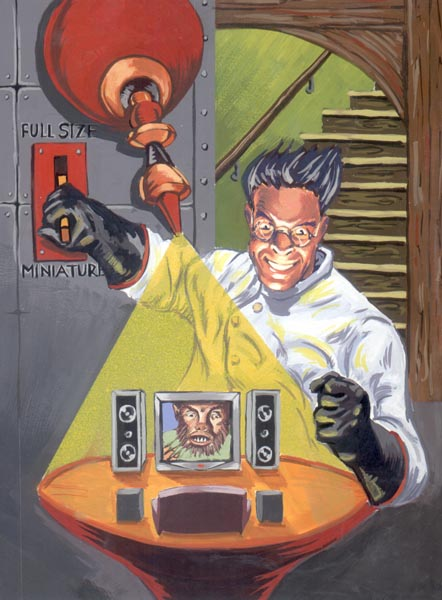 Picture of How to Be a MAD Scientist! MU-AH HA HA HA!