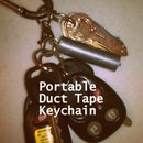 Portable Duct Tape Keychain
