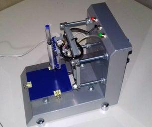 Mini Cnc - Feita De Aço E Material Reciclado.
