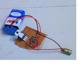 Simple Red Laser