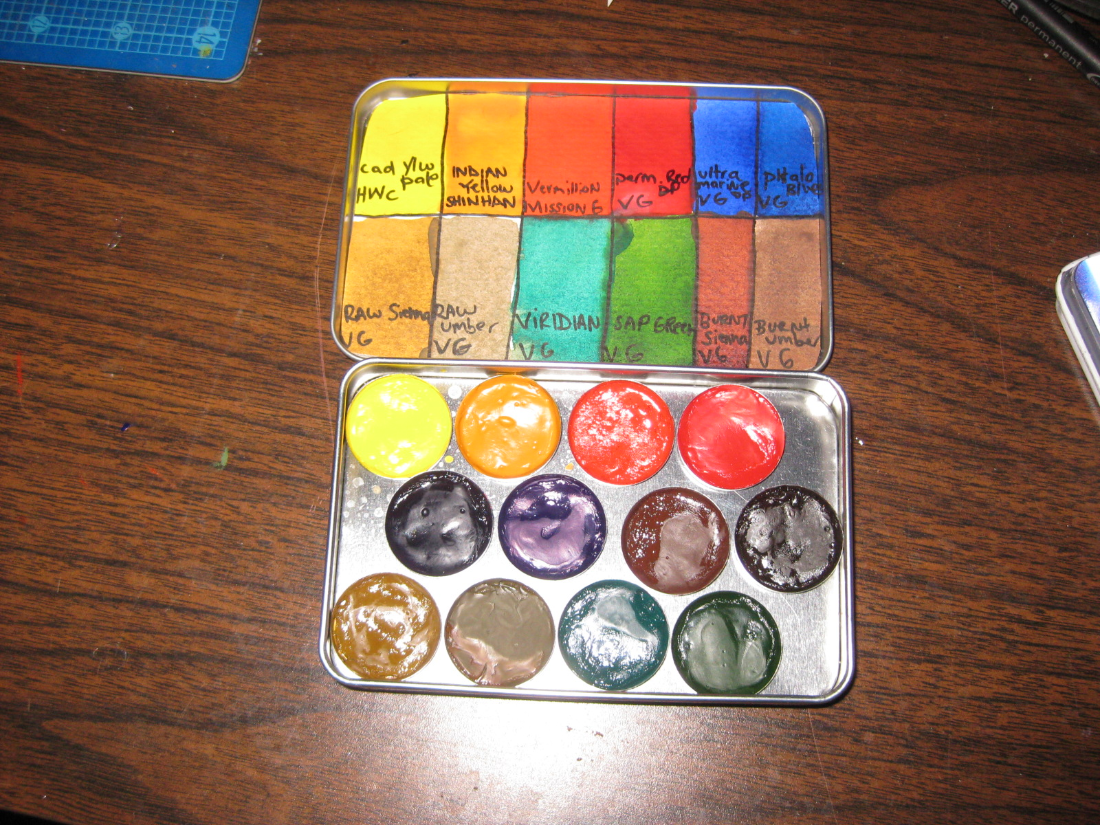Picture of Pocket Watercolour Pallete