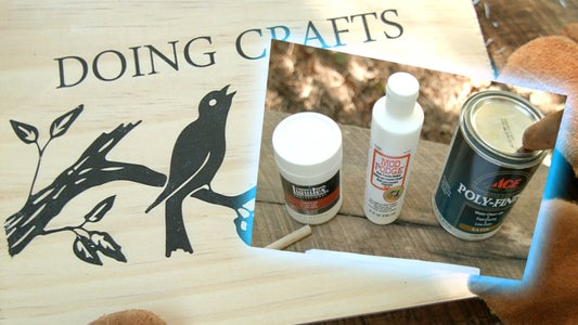 How to Print on Wood (Better Than Mod Podge)