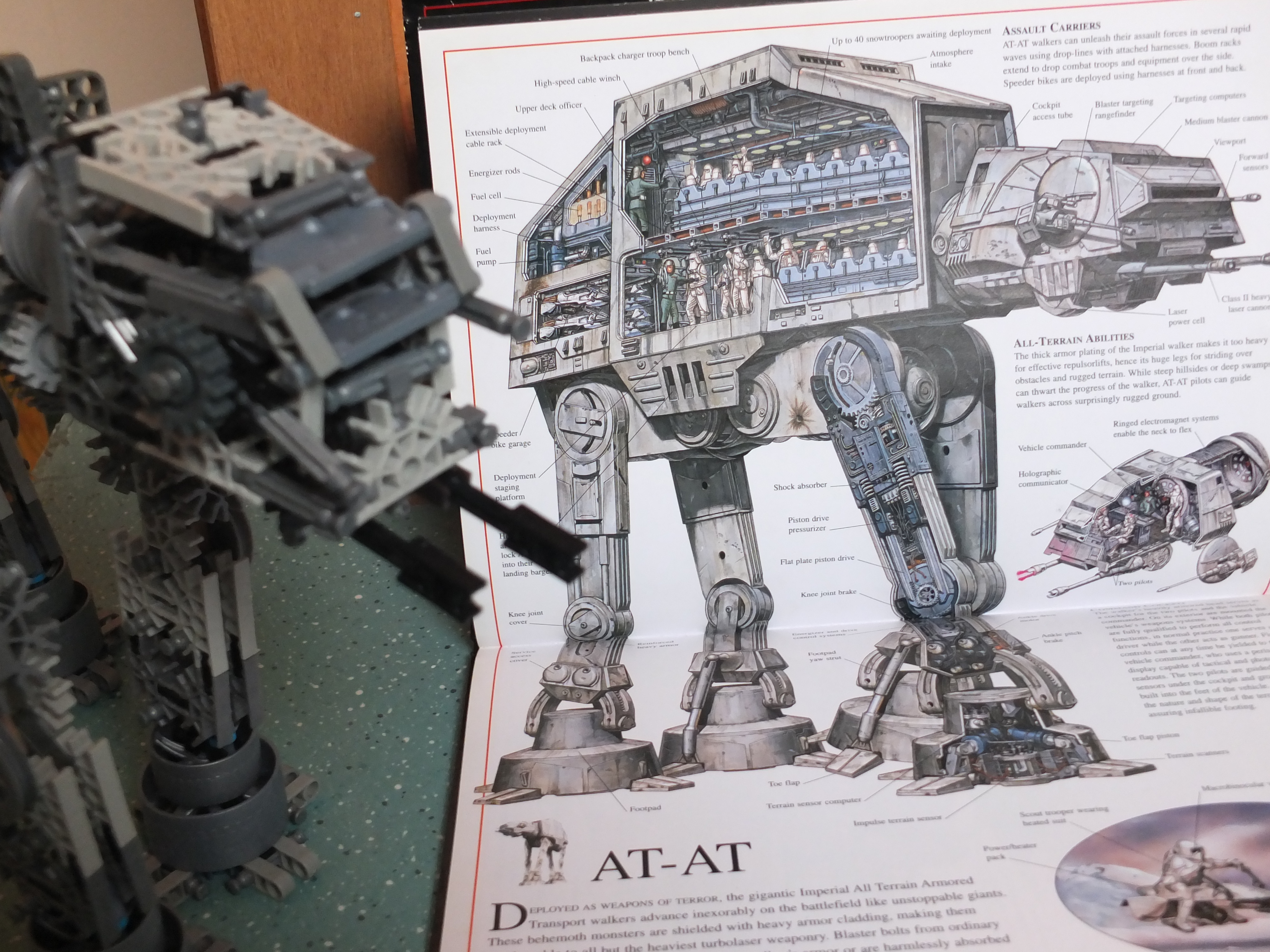 Picture of K'NEX Motorized AT-AT From Star Wars