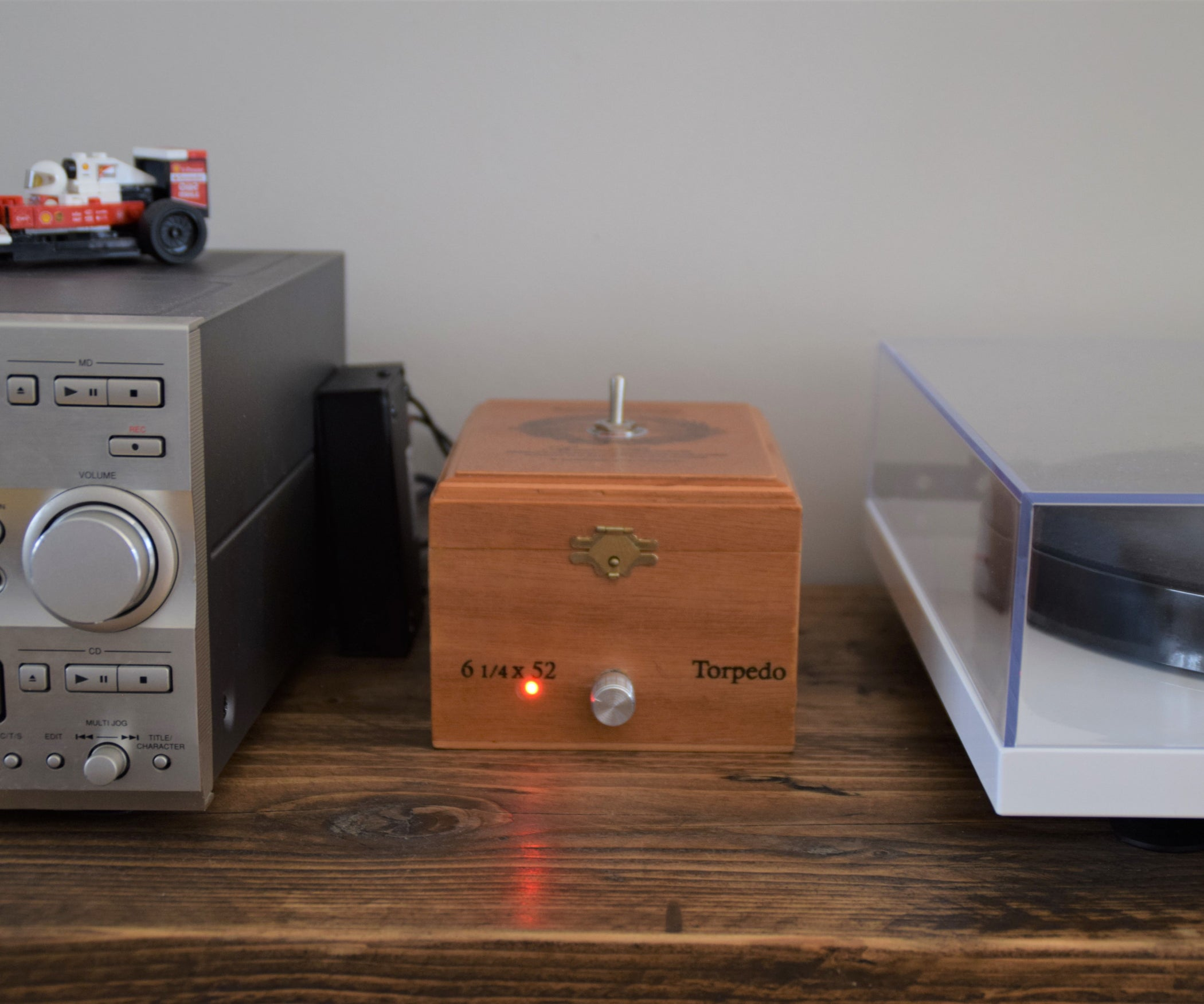 Bluetooth Amp Isolation Switch Two Amps Share A Pair Of Speakers 2 Way Phono Box 14 Steps With Pictures
