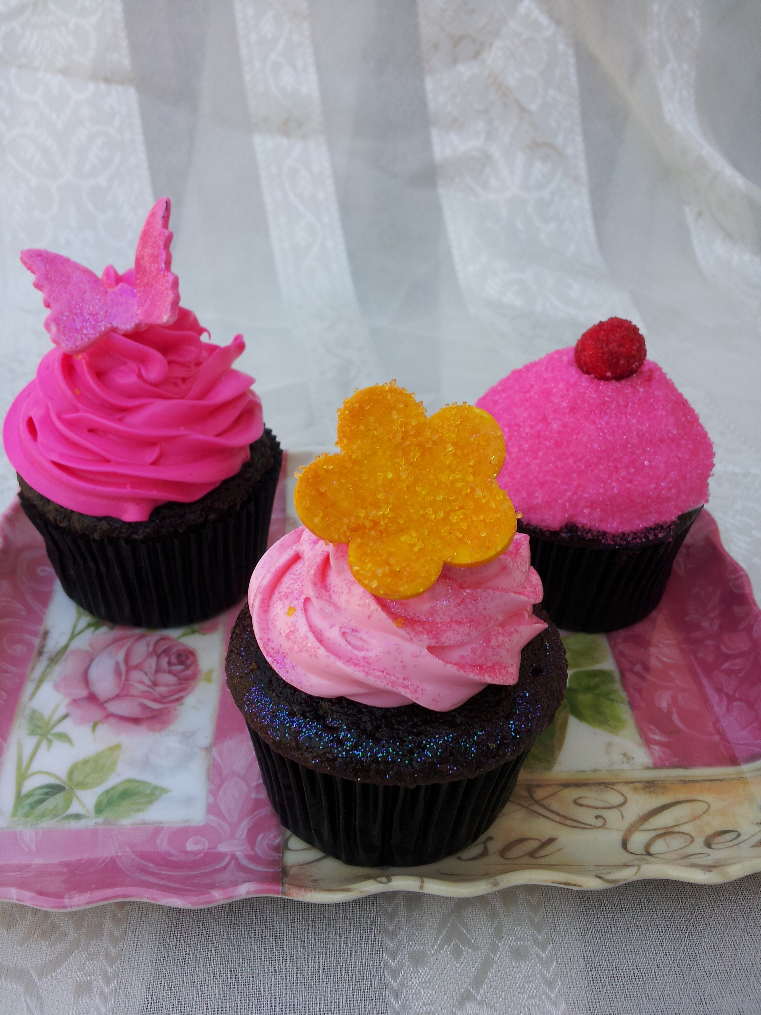 Picture of Glitter Cupcakes