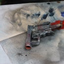 How to Dry Brush With Spraypaint