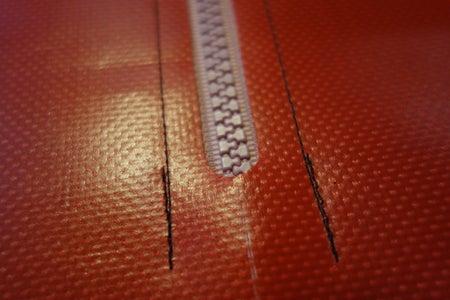 Upside-Down Pouch: Zipper Acccess
