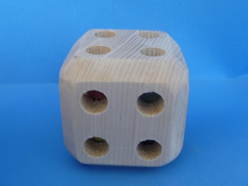 Picture of Option #2 Beveled Cube