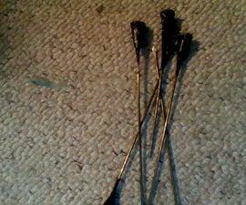 blowgun and darts