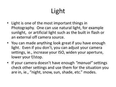 Take Great Pics, Easy Tutorial!