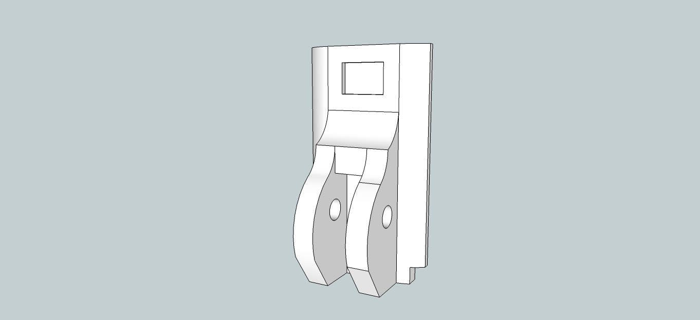 Picture of Designing and Creating the 3D Printed Mounting Bracket