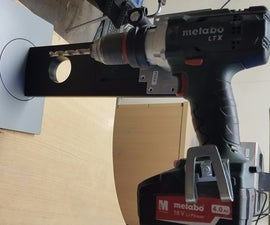 LCD Monitor Stand to Drill Press