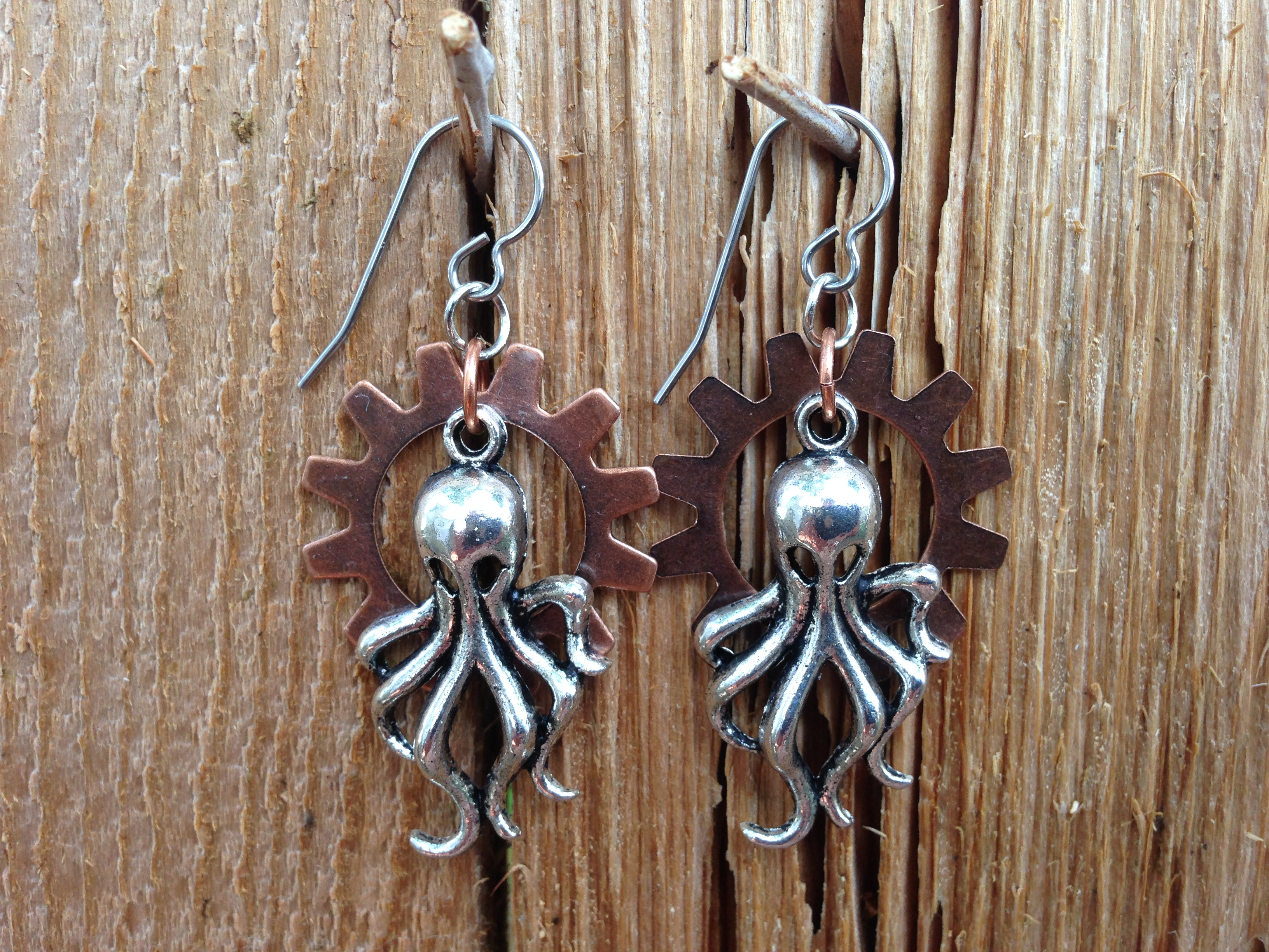 Picture of SteamPunk Earrings