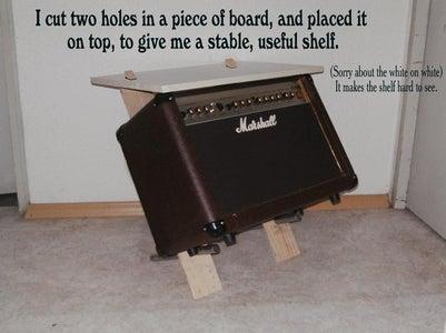 Add a Shelf for Your Stuff!