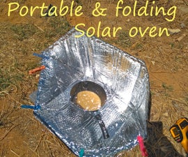 Portable and Folding Solar Oven