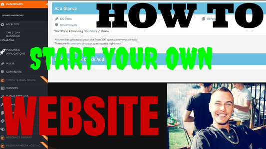 """""""How to Start Your Own Website"""" Quick and Easy"""