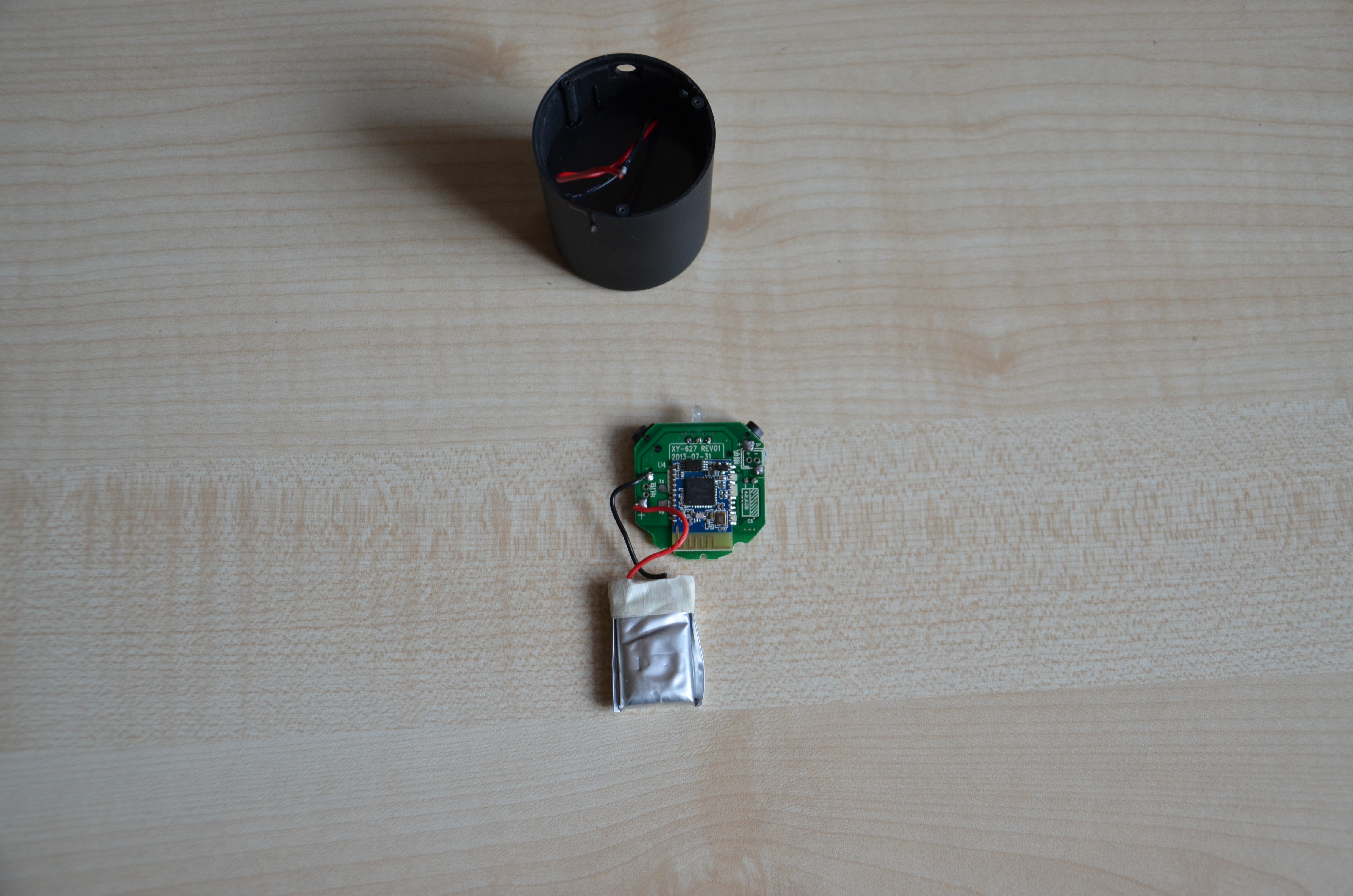 Picture of Bluetooth Speaker Disassembly