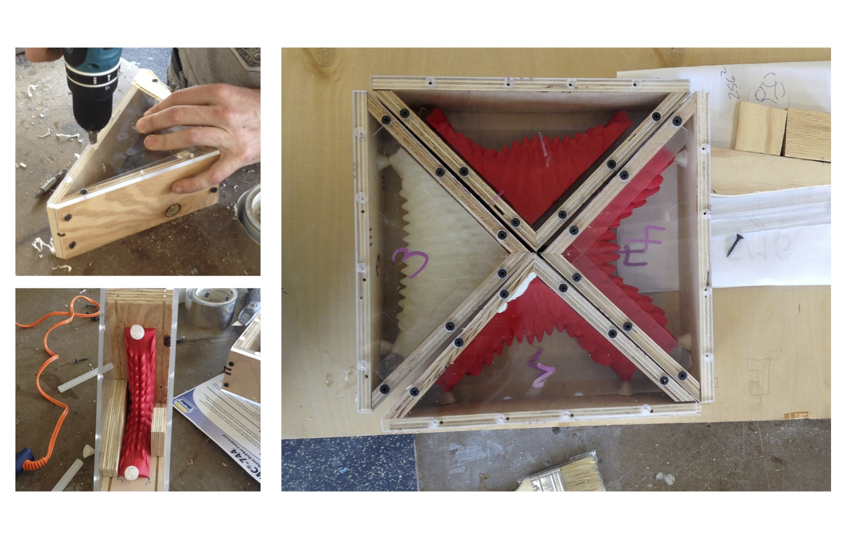 Picture of Construct Frame for Mold