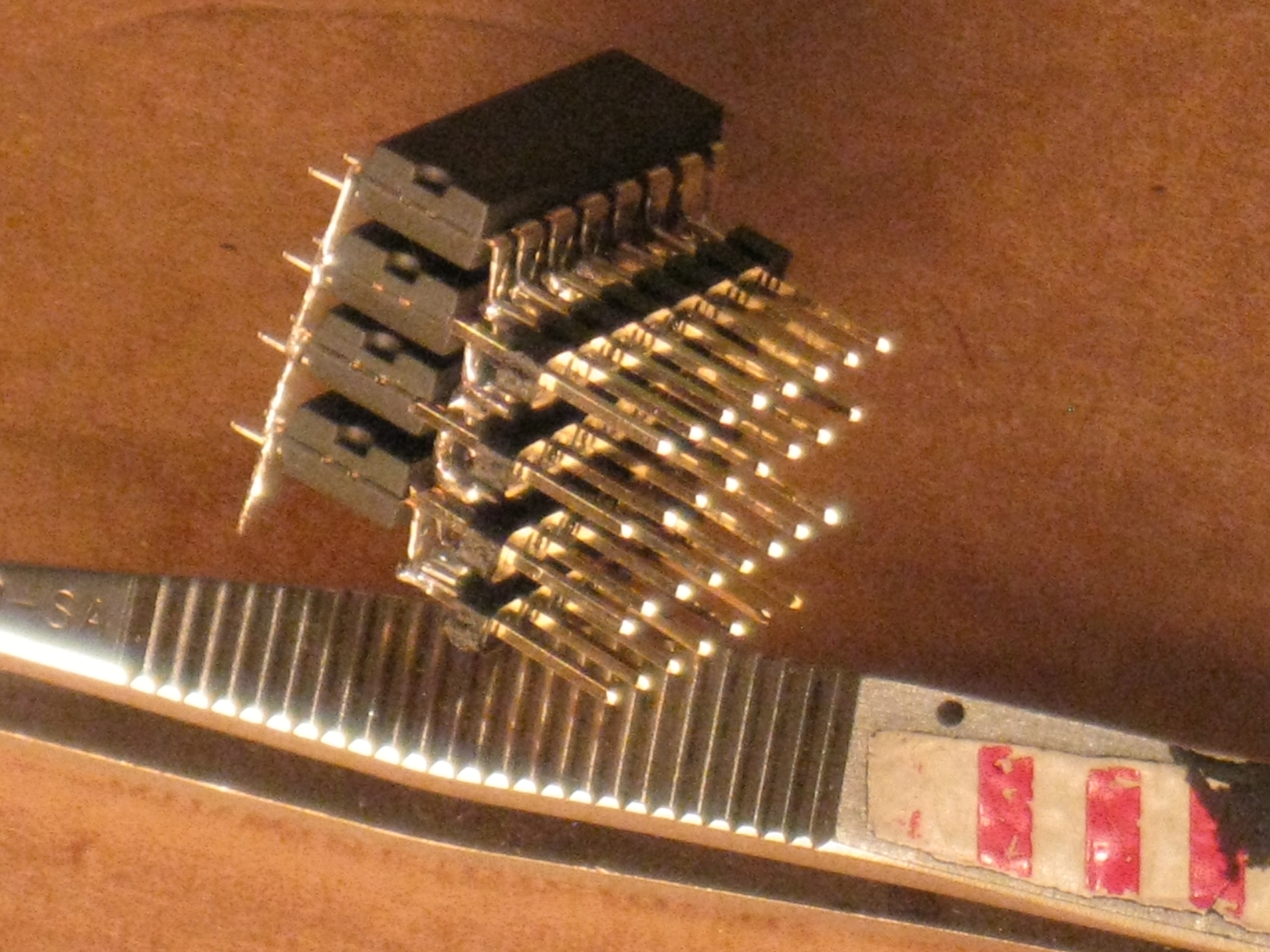 Picture of Dead Bug Prototyping and Freeform Electronics