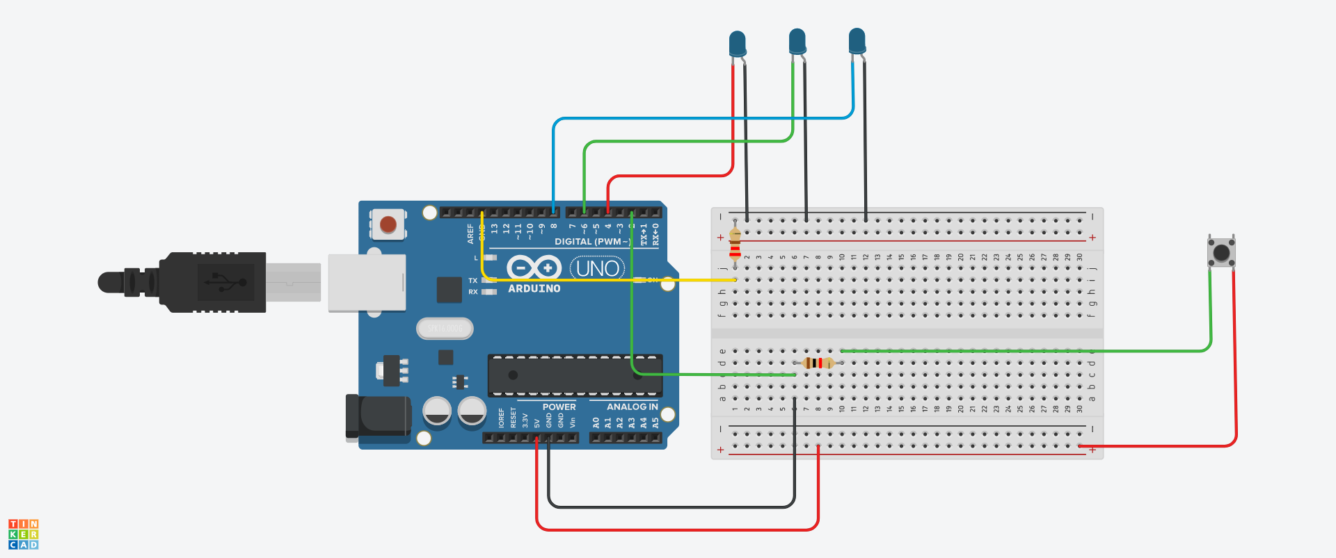 Picture of Setting Up the Arduino (Scheme)