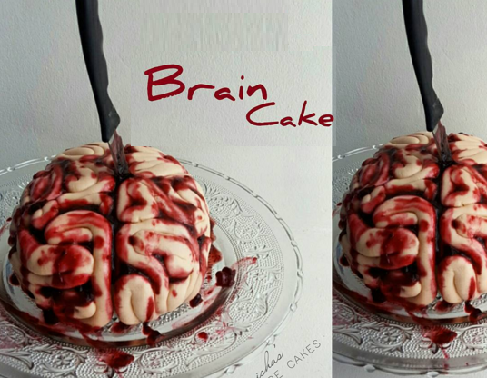 Picture of Bloody Brain Cake