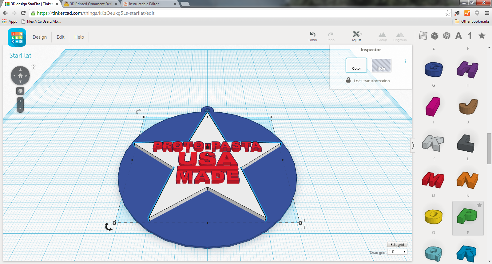 Picture of Draw Your Model Using Tinkercad, Fusion 360, or Other CAD Program