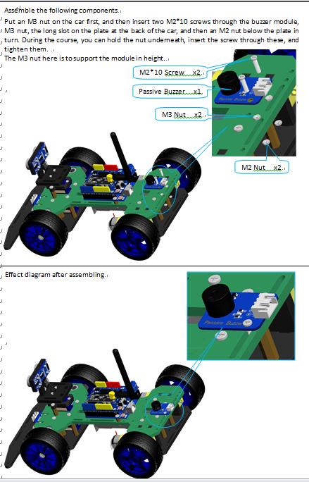 Picture of Assemble the Passive Buzzer Module
