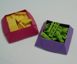 Candy Dish Origami Box