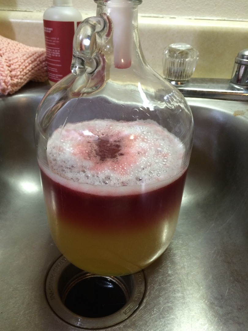 Picture of Mix the Cherry Juice With the Water and Honey Mixture