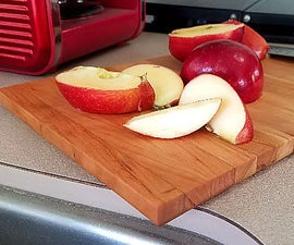 A Simple Cutting Board