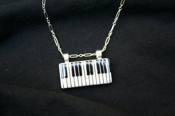 Keyboard Domino Pendant