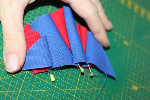 Picture of Making the Sleeves