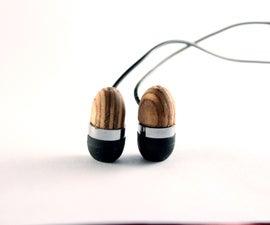Wooden Earphones