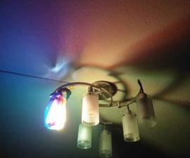 Rainbow Light Filter Prank