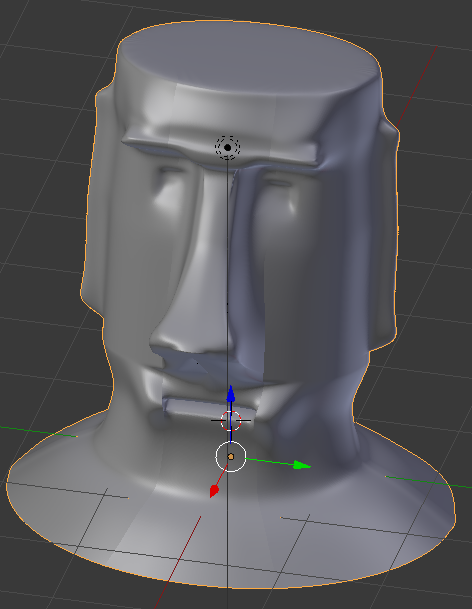 Picture of Printing the Moai