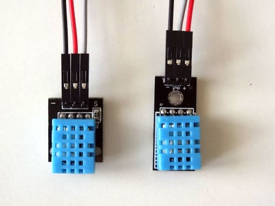 Connect the DHT11 to the First NodeMCU ESP8266 Module