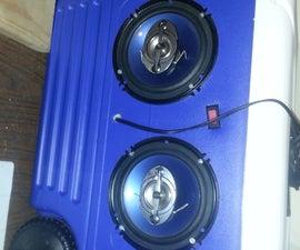 12 Volt portable stereo