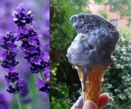 Lavender & Earl Gray No-Churn Ice Cream