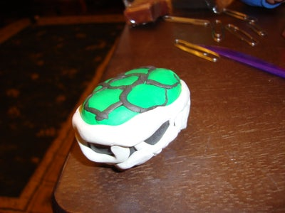 Finshing the Turtle