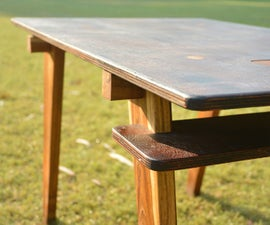 Easy to Make Wooden Table