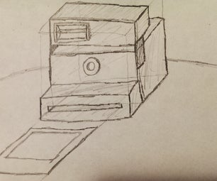 Draw an Instant Camera